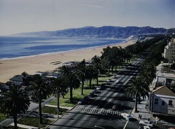 Ocean Avenue Santa Monica 1955